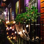 The Marigny neighborhood features some of the city's best Halloween decorations and celebrations. Photos by David Weinberg.