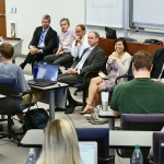Local business leaders and innovators  share insights with the Law & Entrepreneurship course's Pulse of NOLA panel.