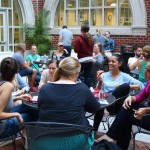 Students take a much-needed study break at Recess, organized by the Student Bar Association each semester.