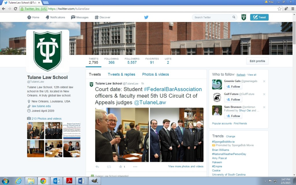 Tulane Law School | Twitter