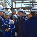 Environmental and energy law students tour Valero's St. Charles Refinery to explore its business and legal operations.