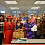 For the third straight Halloween, Prof. Sally Richardson is voted the law professor students most want to see in costume. She (and her students) didn't disappoint.