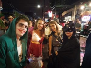Tulane Law LLMs got in the New Orleans spirit for Halloween.